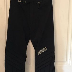 Spider Entrant Black Insulated Stretch Ski Pants